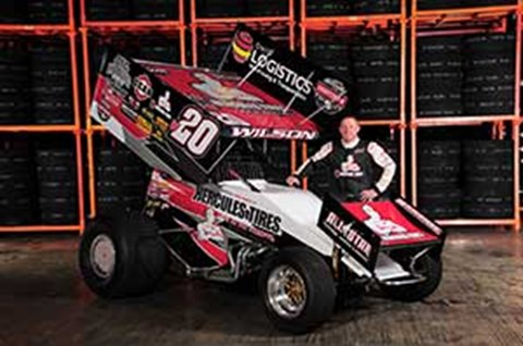 Greg Wilson Racing Kicks Off 2016 World of Outlaws Tour with Hercules Tire