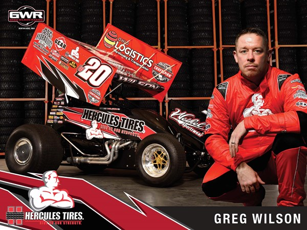 Hercules Tire to Sponsor Greg Wilson Racing for 2018 World of Outlaws Tour